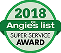 2018 Angie's List Super Service Award Winner