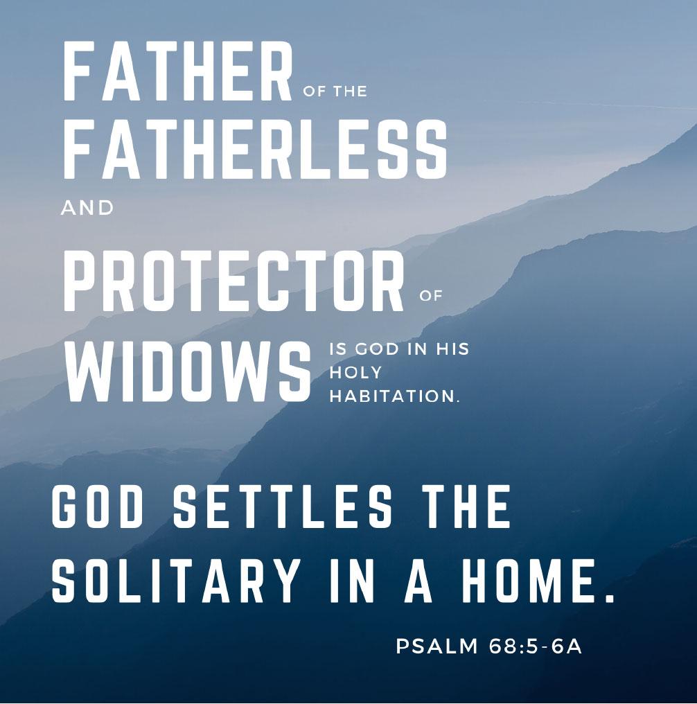 Psalm 68:5-6A